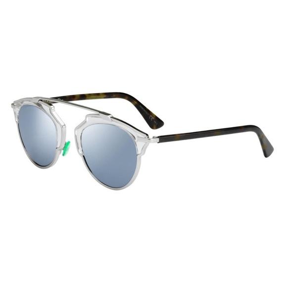 2101697548a3 DIOR DiorSoReal NST48T7 Palladium Blue Sunglasses